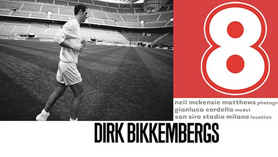 Picture from Dirk Bikkembergs in April 2001.