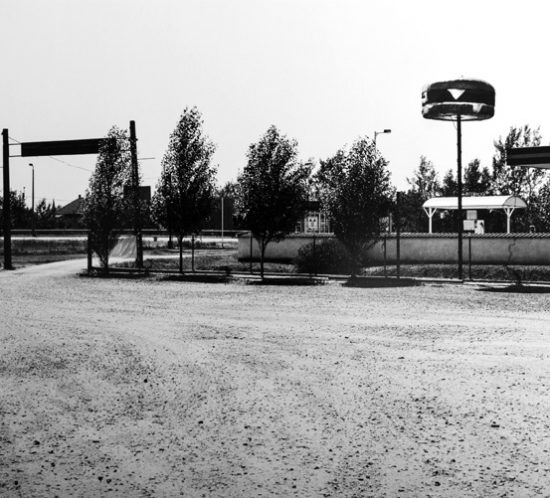 Picture at Mohacs Train Station in 2008.