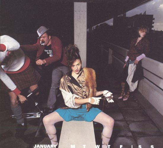 Picture from Vivienne Westwood in January 2003.